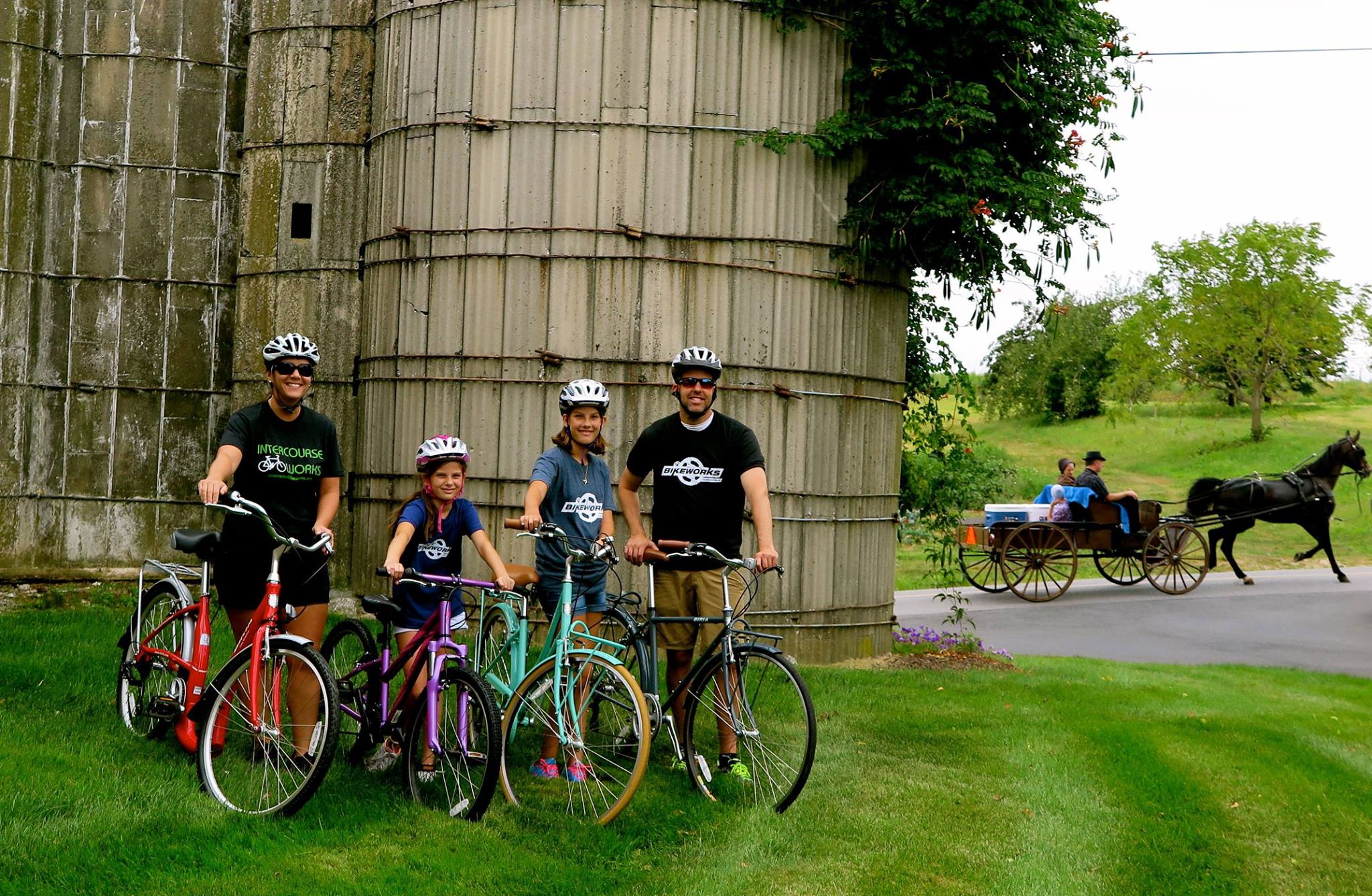 Bike Tours Lancaster County PA